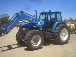"NEW HOLLAND 8360 - Fitted with challenge 4110 Loader & bucket. ""PRICE REDUCED"""