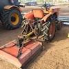 Kubota Tractor with Slasher