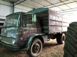 BEDFORD TRUCK with seed/fert system