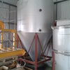 Stainless steel, insulated mixing tank