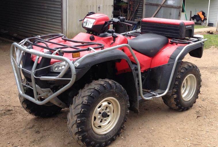 Honda Trx500 Quad Bike For Sale Vehicles Amp Motorbikes Atv