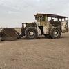 1985 Caterpillar 988B Wheel Loader with 24 foot stick rake