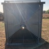Feed Out Grain Bin to put on Bogie Trailer feeding out grain to livestock