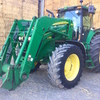 John Deere 7730 Tractor with John Deere 746 Front End Loader.
