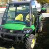 John Deere 625i Gator with Deluxe Glass cab