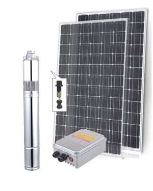 Submersible Solar Bore Pumps-1800l.hr 90m max head  replace windmill with solar pump