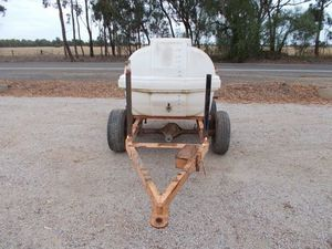 Under Auction - Water Tanker 1500 Litre Bogie Axle - 2% Buyers Premium on all Lots