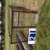 Under Auction (A129) - Calf Crate 7 Ft x 5 Ft 6 inches- 2% + GST Buyers Premium On All Lots