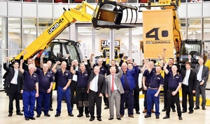 JCB 40th anniversary of the Telehandler