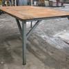 Steel Work Bench approx 2200mm x 1500mm x 900mm