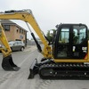 2015 CAT 8 Ton Excavator low 1100  hours rubber tracks Aircon cabin, quick hitch, e-stop,  ready for work