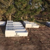 8 x Concrete water troughs