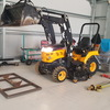 Yanmar 4wd tractor with post hole digger , 4 in 1 loader , mower, 299hrs only plus lots more plz read add