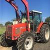 Massey Ferguson 4255 loader 100 Hp