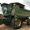 9870sts John Deere 42ftMidwest and Trailer