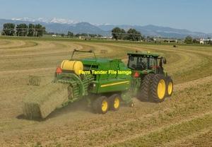 Barley Straw 8x4x3 - 300 x 420 KG Approx Bales