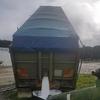 94 Borcat 33ft x 6ft Aluminum Tipper Trailer