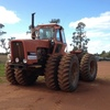 7580 Allis Chalmers tractor