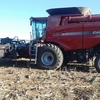 Case 9120 Header with 40ft Draper Front