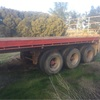 40ft Triaxle trailer and dolly