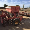 23 row Duncan MK3 Renovator with covering harrows, and rubber tyre roller for sale