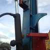 Berends Hydraulic post driver