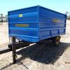 4 Ton Hydraulic tipping Trailer C/W Grain sides