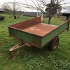SMALL Farm Tipping Trailer.