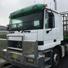 Mercedes Benz 2643 ACTROS Cab Chassis w Krueger drop deck trailer: 45 foot tri-axle For Sale ##PRICE REDUCTION##