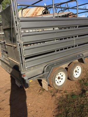 10' x 6' Tandem Axle Livestock Trailer