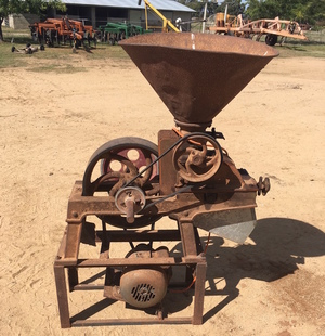 Roller Mill - Electric motor driven