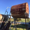 Fuel storage Tanks and ladder