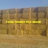 500mt Wheaten Straw 500kg 8x4x3 Bales