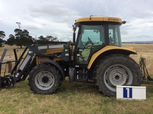 Under Auction - 2008 Cat Challenger MT425B Tractor - 2% + GST Buyers Premium On All Lots