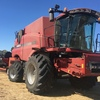 Case 8230 With 3162 Case Draper 40ft Flex Front  & Trailer