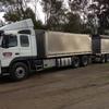 2013 FM VOLVO Auto with Grain Bins & Livestock Crates