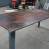 Bench - Steel Work Bench approx 2334mm L x 940mm W x 900mm H