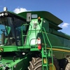 2011 John Deere 9670 STS Header with JD635D Front