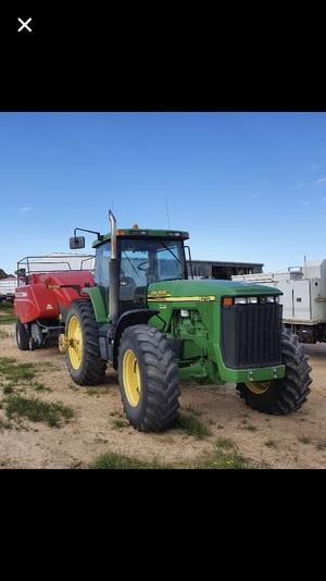 John Deere 8210 Tractor