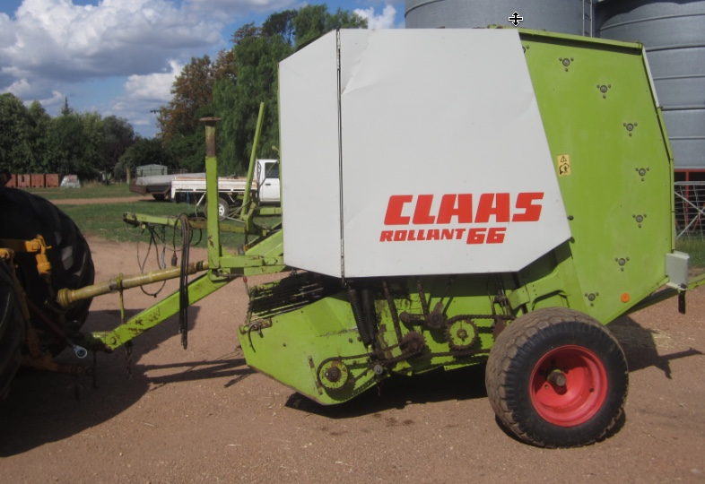 claas rollant 66 round baler machinery amp equipment hay and rh farmtender com au Claas Baler Parts Claas Round Baler Hay