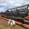 36ft Macdon Cross Auger Canola Front 2042, with Finger Tyne Reel.