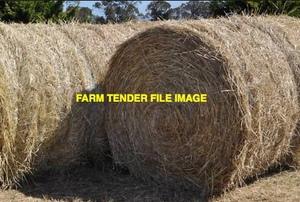 100 x Clover Ryegrass Hay 5x4 Round Bales (Irrigated)
