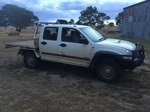 Holden rodeo twin cab