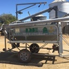D E Engineers 2 Barrel Grain Cleaner For Sale