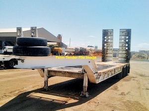 Low Loader to carry 9 ton Excavator