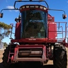 Price Drop - Case IH 2188 with 1010 Front on Leith Trailer
