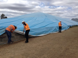 Bunker Tarp 40m x 20m Brand New - Aussie Made