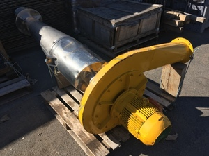 Thames ( TSSM ) stainless cyclonic extractor / blower