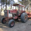 International 766 Drawbar Tractor Black Stripe