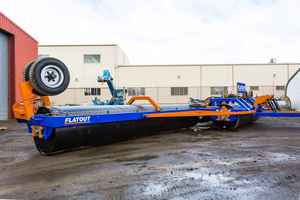42ft  'FLATOUT' LAND ROLLER FOR SALE NEW!